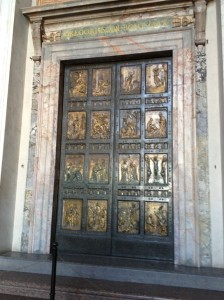 Vatican Holy Door ('Porta Sancta')